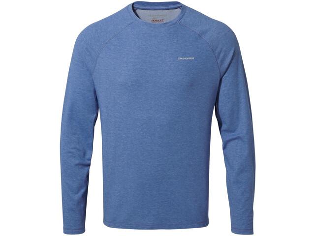 Craghoppers NosiLife Bayame II Long Sleeved T-Shirt Herr blue marl